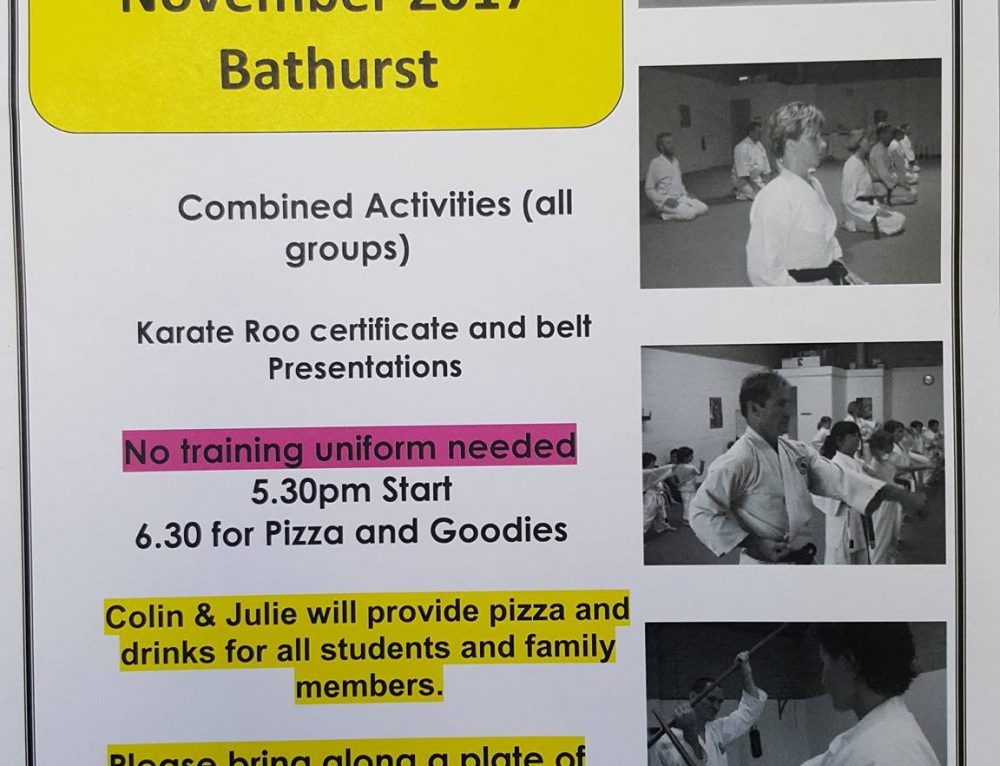 End of Year Celebrations – Bathurst