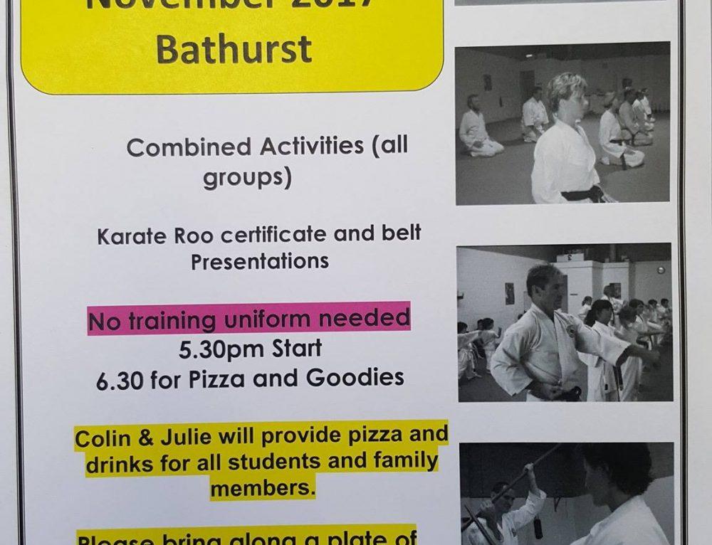 End of Year Celebrations – Bathurst