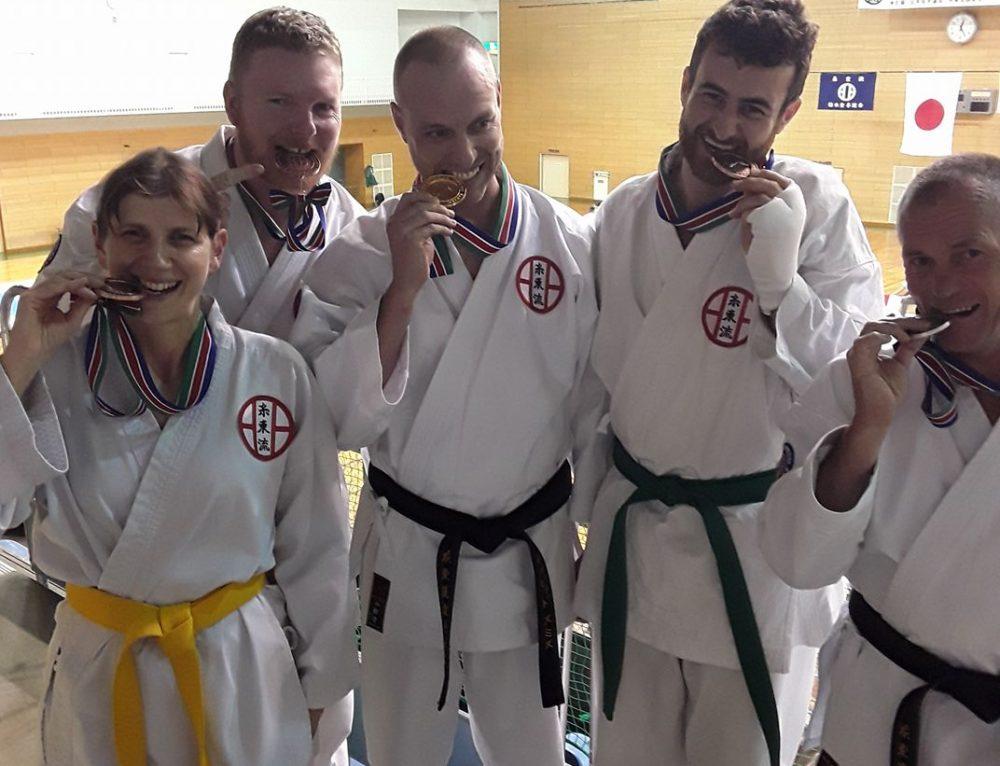 Medals in Osaka for Bathurst Seito Shito-ryu Phillip's Dojo students